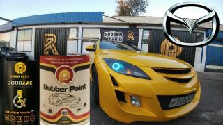 Car painting (Liquid rubber, Raptor, Titan), body re