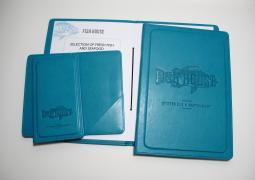 Folders for menus buy counters making folders Kiev (Ukraine)