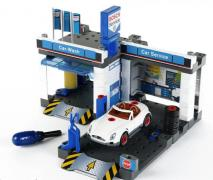 Selling a children's set - a service station with a car wash